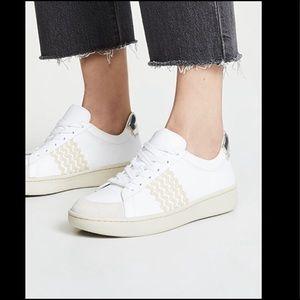 Loeffler Randall Elliot Ric Rac Leather Sneakers